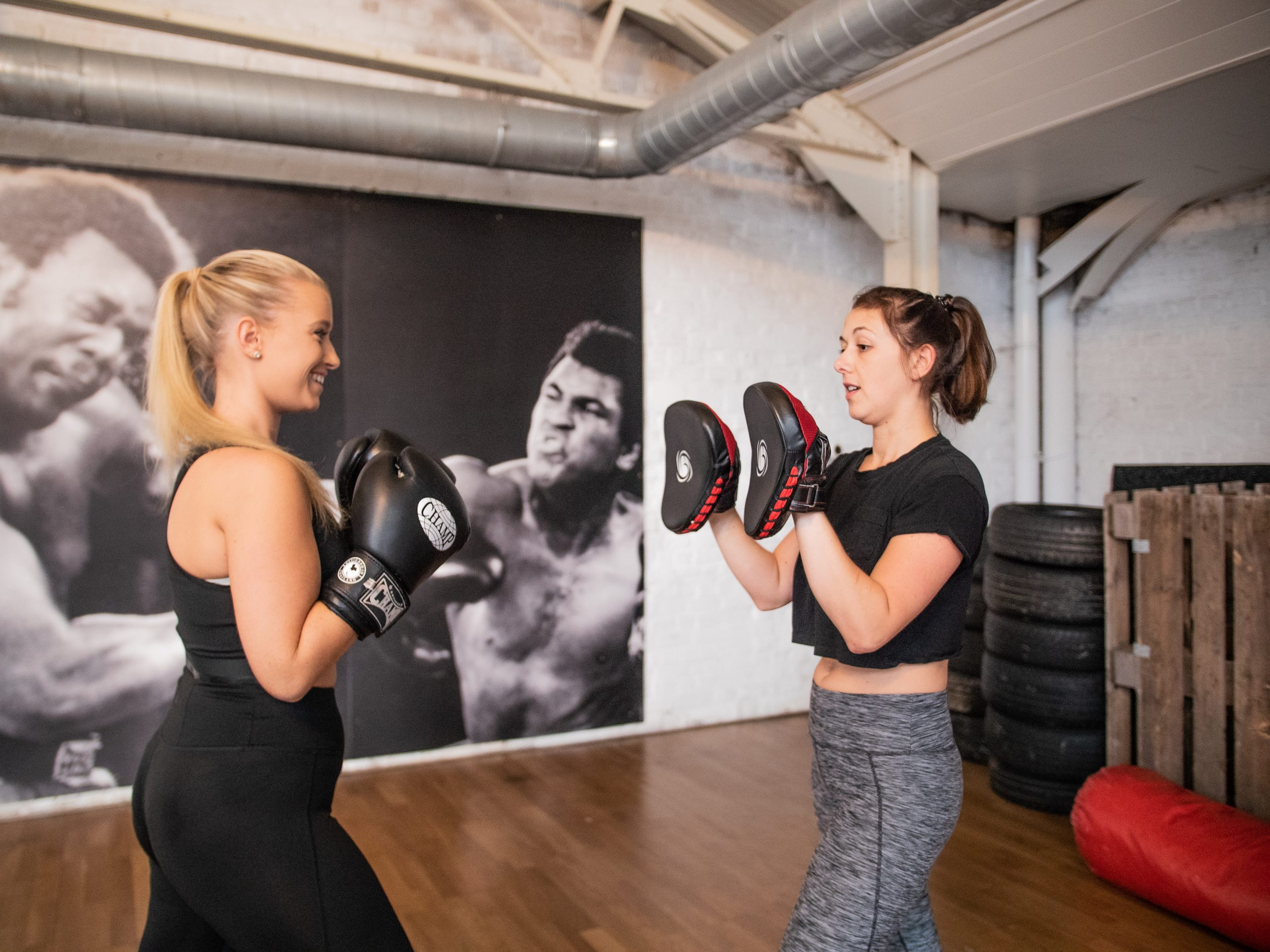 boxing lessons
